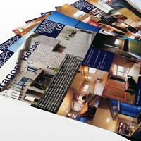 オフィス イシムラトモコ 建築設計様 A4パンフレット